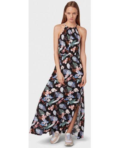 Джинсовое платье прямое осеннее Tom Tailor Denim