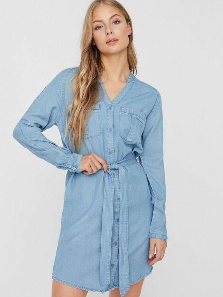 Джинсовое платье весеннее Vero Moda