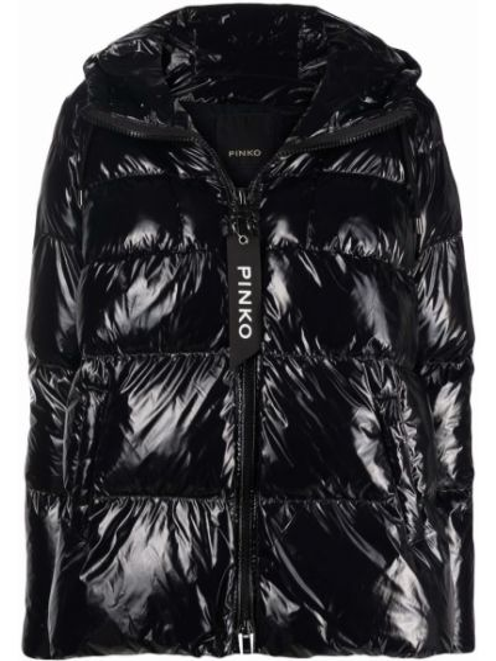 Długi płaszcz - czarny Pinko