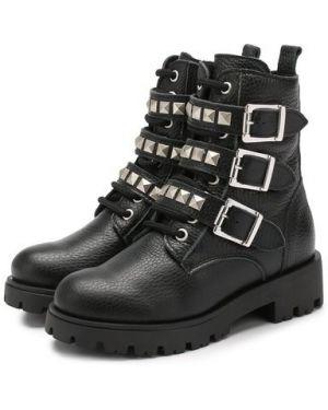 Ботинки на молнии кожаные Trevirgolazero 3,0