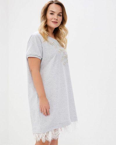 Серое платье Kitana By Rinascimento