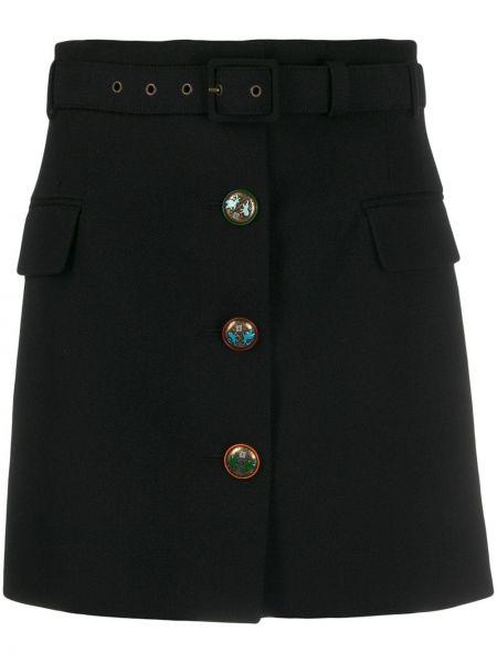 Юбка мини с карманами на пуговицах Givenchy