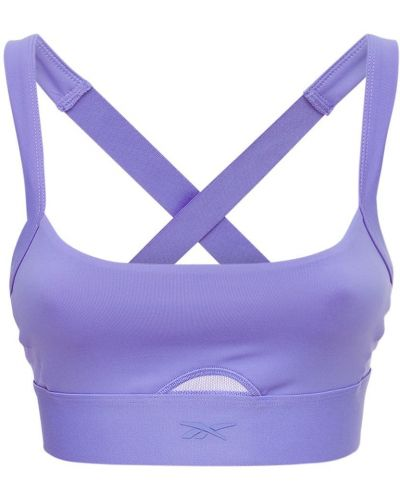 Фиолетовый с ремешком бралетт на бретелях Reebok Classics