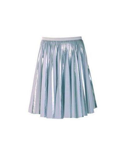 Плиссированная юбка миди Emporio Armani