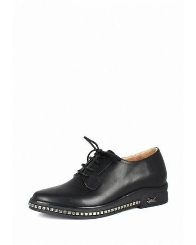Кожаные ботинки осенние черный Blizzarini