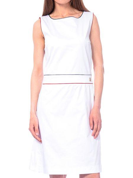 Хлопковое белое платье Marina Yachting