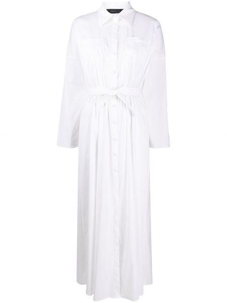 Платье макси на пуговицах классическое Federica Tosi