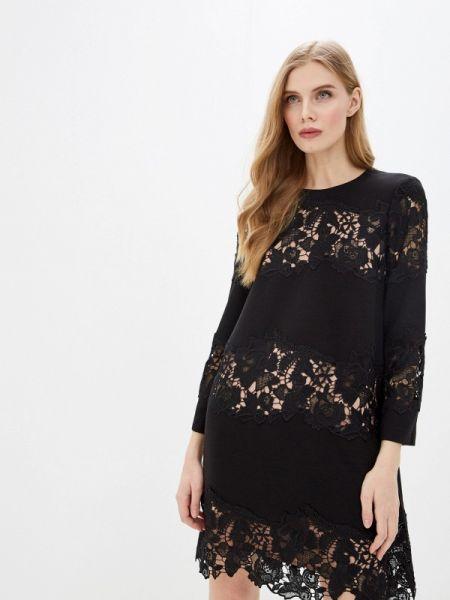 Платье - черное French Connection