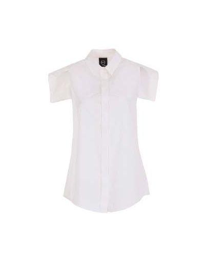 Рубашка хлопковая повседневная Mcq