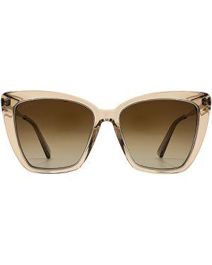 Okulary przeciwsłoneczne z gradientem kryształ Diff Eyewear