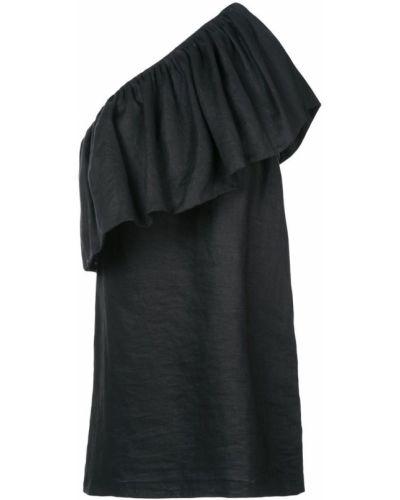 Платье с оборками на одно плечо Mara Hoffman