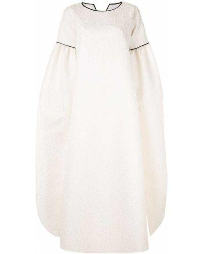 Платье свободного кроя с длинными рукавами Mounay