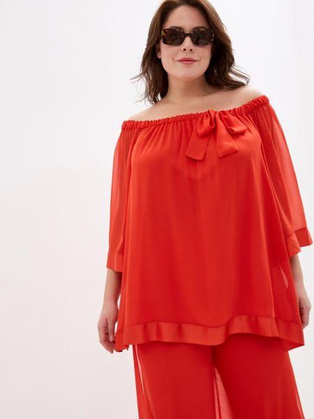 Красная блузка Keyra