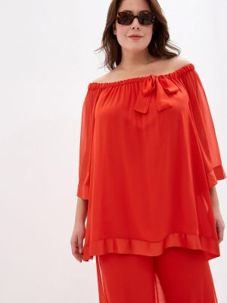Блузка красная весенний Keyra