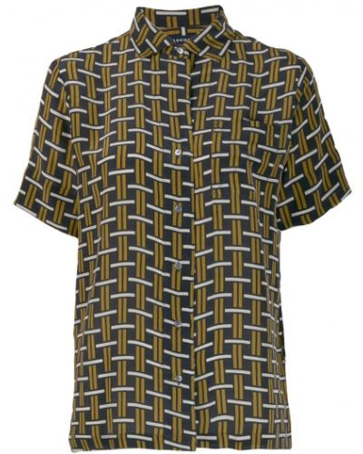 Блузка с короткими рукавами - черная Soeur