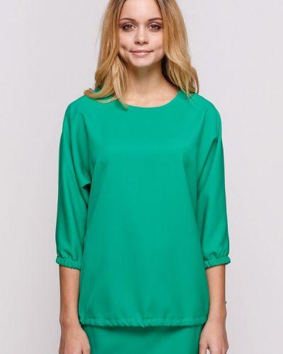 Блузка осенняя зеленый Zubrytskaya