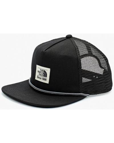 Черная бейсболка The North Face