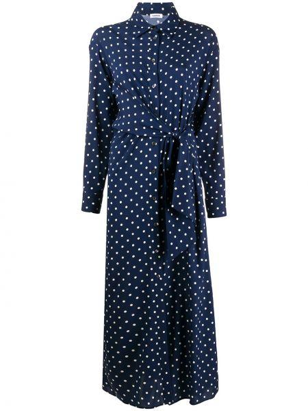 Платье миди в горошек классическое P.a.r.o.s.h.