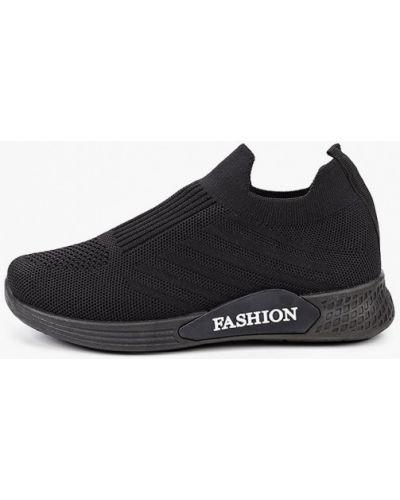 Текстильные черные кроссовки La Bottine Souriante