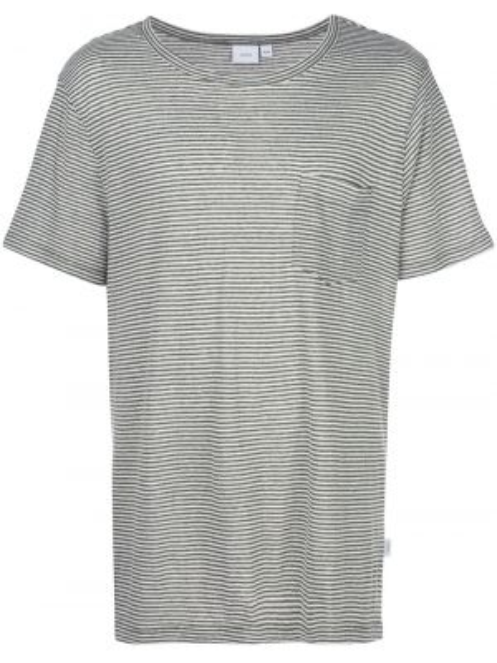 Koszula krótkie z krótkim rękawem prosto w paski Onia