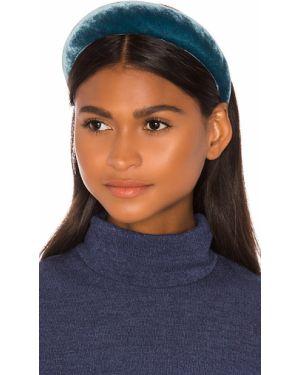 Niebieski kapelusz srebrny miejski Jennifer Behr