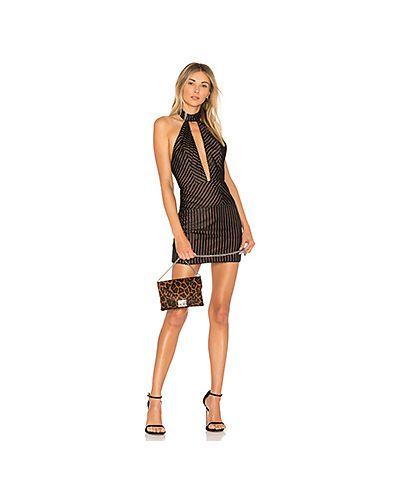 Облегающее платье в полоску с бисером X By Nbd