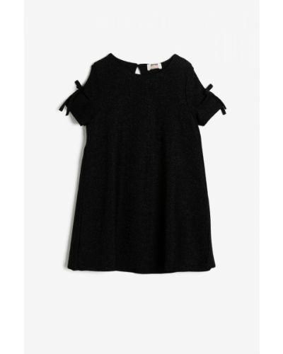 Sukienka mini - czarna Koton