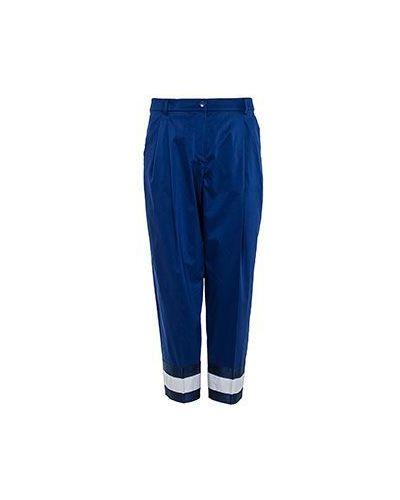 Укороченные брюки летние с защипами Emporio Armani