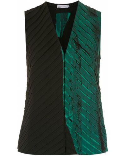 Блузка без рукавов - зеленая Mara Mac