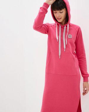 Платье розовое платье-толстовка Sava Mari