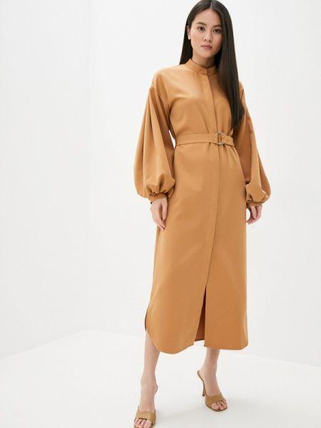 Коричневое платье Lipinskaya Brand