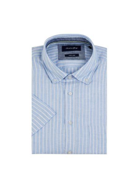 Koszula krótkie z krótkim rękawem w paski z paskami Christian Berg Men