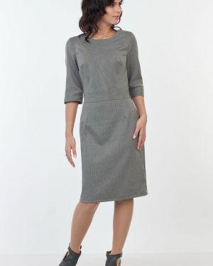 Платье миди в полоску классическое Kapsula