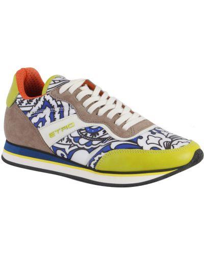 Кожаные кроссовки Etro