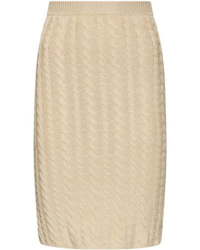 Beżowa spódnica ołówkowa Rinascimento