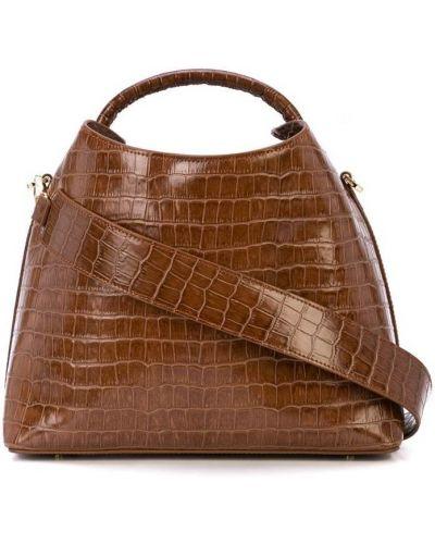 Кожаная сумка на плечо сэтчел Elleme