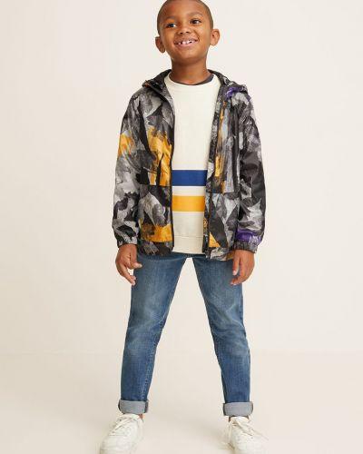 Куртка теплая серая Mango Kids
