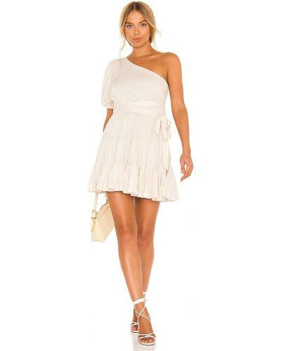 Sukienka z wiskozy - biała Lovers + Friends