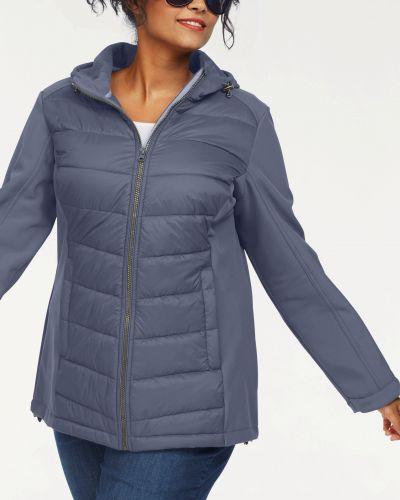 Спортивная куртка - голубая Sheego