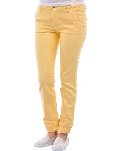 Желтые брюки Diesel Denim