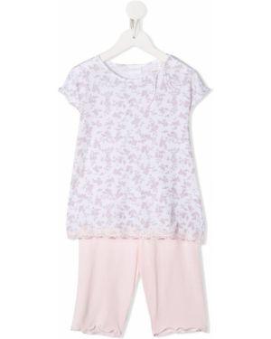 Piżama dwuczęściowa - biała La Perla Kids