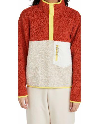 Кожаная длинная куртка с подкладкой с длинными рукавами Tory Sport