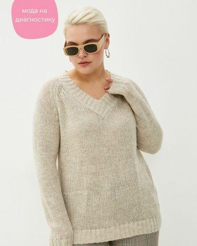 Бежевый пуловер Studio Untold