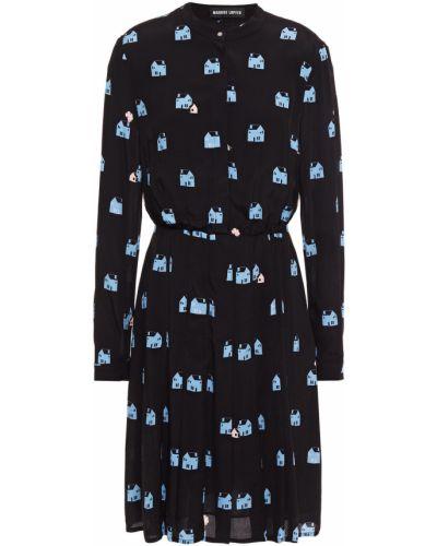 Платье мини - черное Markus Lupfer