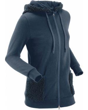 Флисовая куртка - синяя Bonprix