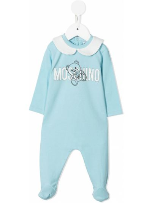 Piżama z długimi rękawami - biała Moschino Kids
