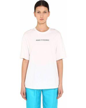 Biały t-shirt Annakiki