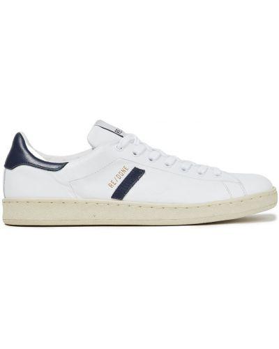 Кожаные кроссовки - белые Re/done