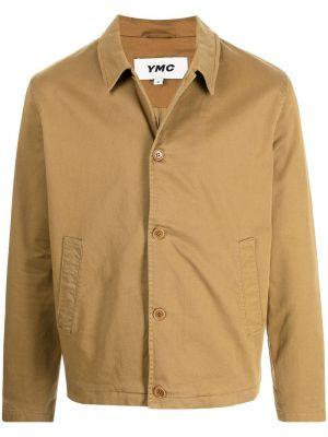 Brązowa klasyczna kurtka Ymc