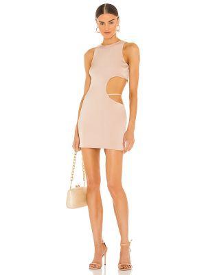 Платье мини атласное H:ours